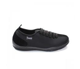 Chaussures basses noir avec lacets