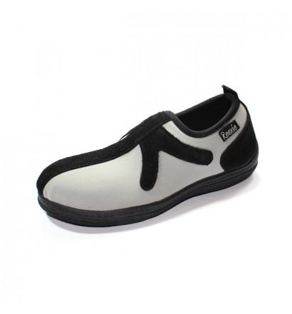 Chaussure sans lacet Gris/Noir