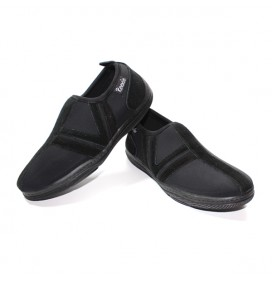 Chaussures Noir/Noir sans lacet