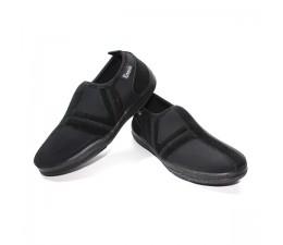 Chaussures Noir/Noir sans lacet