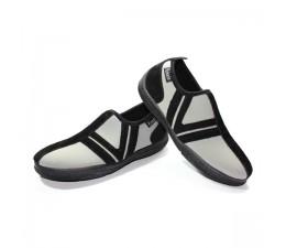Chaussures Gris/Noir sans lacet