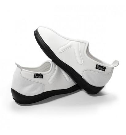 Chaussure Blanc/Blanc sans lacet