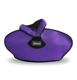 Sac Violet/Noir 2 poignées