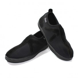 "Chaussures Noir/Noir sans lacet ""X"""